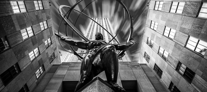 Atlas rockefeller center manhattan new york u s