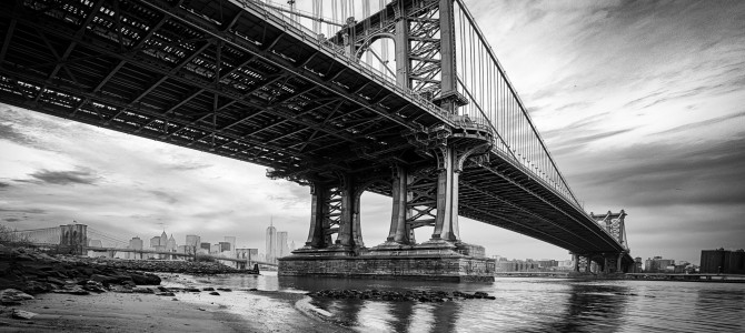Dumbo down under the manhattan bridge overpass brooklyn new york u s